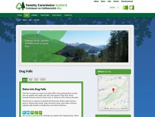 Forestry Commission Scotland website